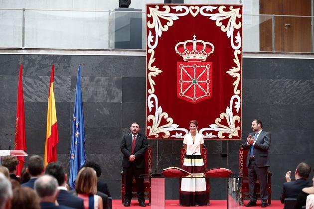 Chivite toma posesión como novena presidenta del Gobierno de