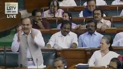 Adhir Ranjan Chowdhury Gets Furious Response From Amit Shah Over Kashmir