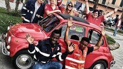 """""""Sporchi la divisa che indossi"""". Volontario della Croce Rossa insultato perché nero. Lui:"""
