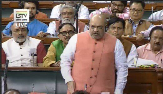 LIVE Updates: Lok Sabha Passes Jammu And Kashmir Reorganisation