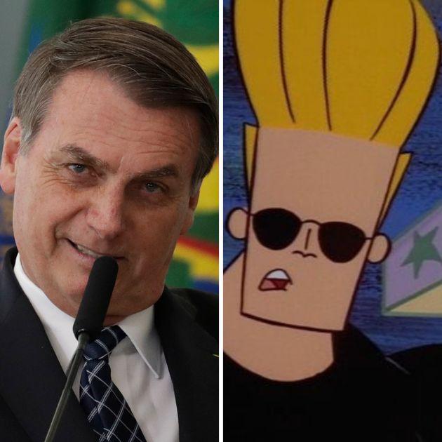 Jair Bolsonaro (PSL) e Johnny Bravo são almas