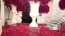 La maison de Kylie Jenner envahie de roses rouges pour ses 22