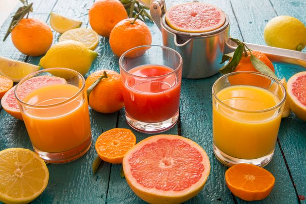 Juicing removes the fiber from fruit, making sugar hit your bloodstream faster than it would from whole