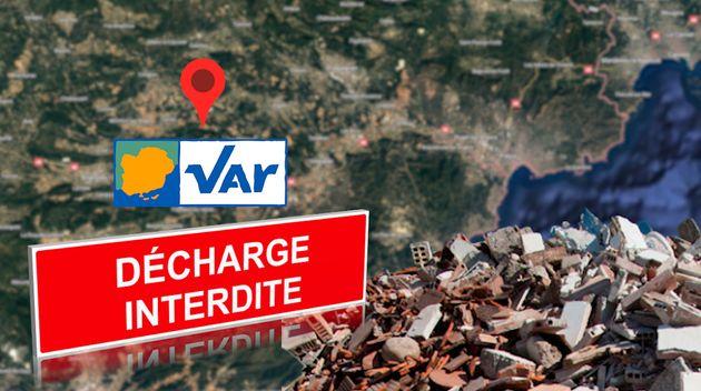 Décharges sauvages et décharges illégales pullulent dans la région varoise....