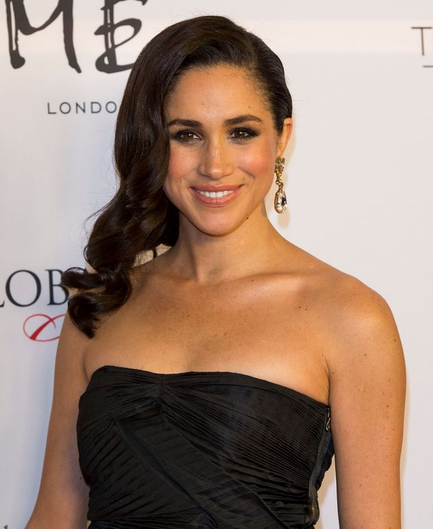 Meghan Markle at the London Global Gift Gala at ME Hotel on November 19, 2013, long before she was a
