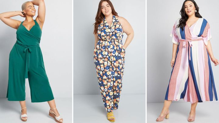 15 Dressy Plus-Size Wedding Guest Jumpsuits For Summer ...