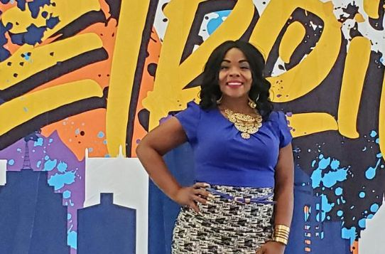 Christina Laster is photographed at the NAACP's 2019 national convention in Detroit.