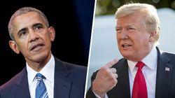 Obama urge a rechazar el lenguaje de odio de cualquier líder y Trump no encaja bien el
