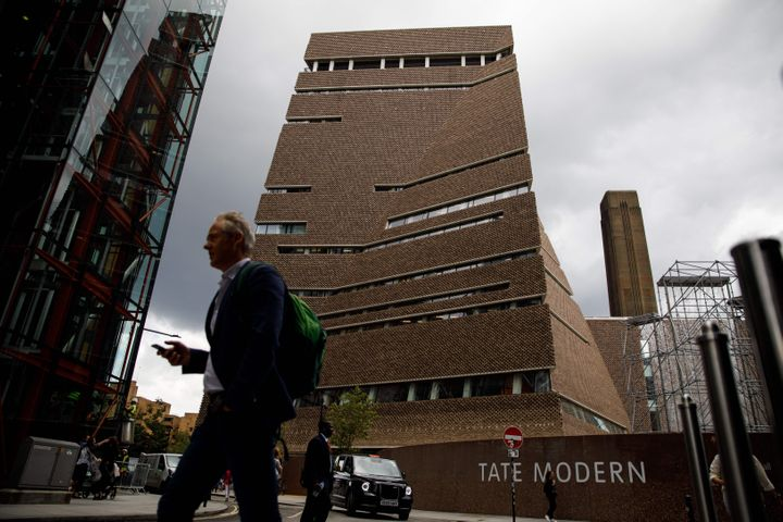 The famed Tate Modern gallery in central London.