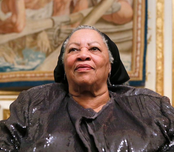 Acclaimed novelist Toni Morrison, pictured in Paris in 2012.