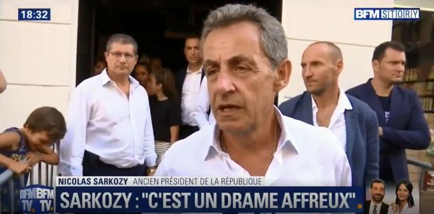En déplacement dans le Var, à Toulon, Nicolas Sarkozy a jugé que la mort du maire...