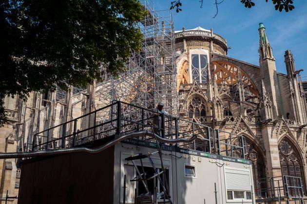 Plomb à Notre-Dame: 175 enfants dépistés, 2 au-dessus du seuil de