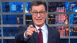 Colbert Nails The Exact Moment Fox News Accidentally Called Trump A