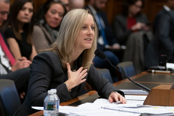 Kathy Kraninger, director of the Consumer Financial Protection Bureau, takes questions from the House Financial Services Comm