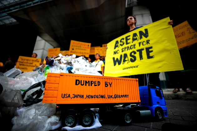 THAILAND GREENPEACE WASTE