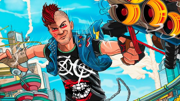 Sunset Overdrive was one of the launch titles for the Xbox