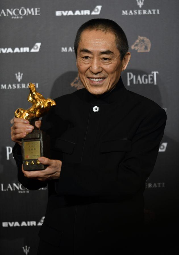 2018년, 영화 '삼국-무영자'로 금마장 감독상을 수상한 중국의 장이모우