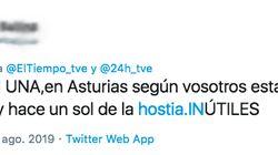 La mujer del Tiempo de TVE triunfa en Twitter con su impecable zasca a este