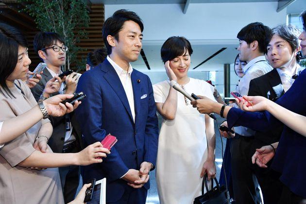'포스트 아베'로 불리는 고이즈미 전 일본 총리 차남이