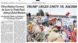 미국 좌파를 분노케 만든 뉴욕타임스의 1면