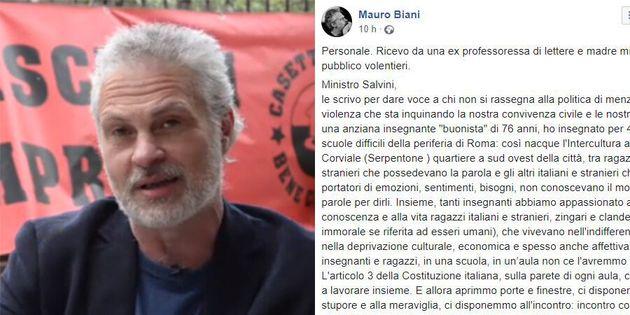 La madre del vignettista Biani scrive a Salvini: