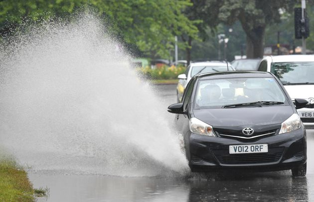 UK Weather: Thunderstorms And Severe Winds Forecast As Met Office Issues Weather Warnings