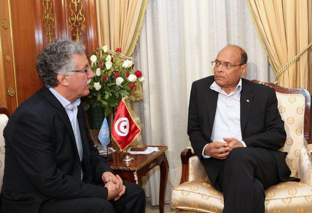 Élection présidentielle: Moncef Marzouki et Hamma Hammami déposent leurs