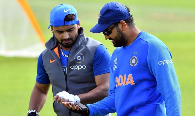Rishabh Pant Reveals His Game Strategy In Chat With Rohit