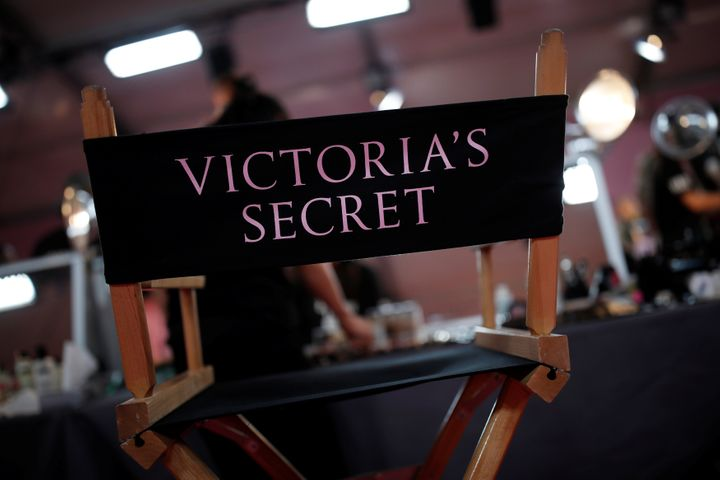 Backstage at the Victoria's Secret Fashion Show in Paris in 2016.
