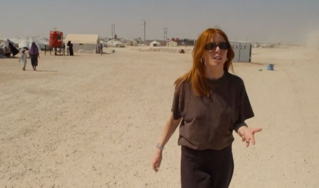 Stacey Dooley in her Panorama