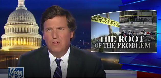 Pour Tucker Carlson, l'une des stars de Fox News, le suprémacisme blanc n'existe pas. Ce serait...