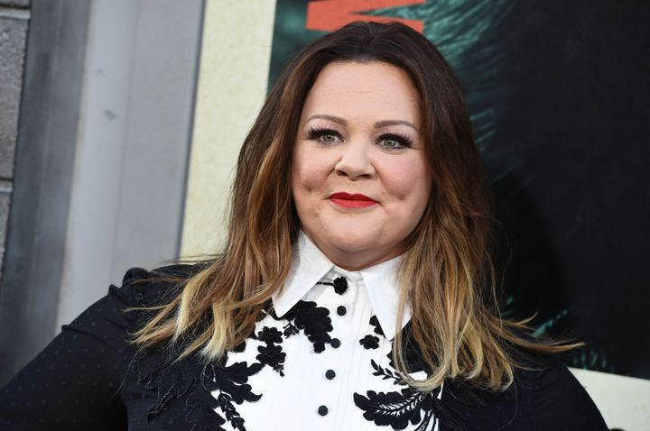 "Melissa McCarthy arrives at the world premiere of ""The Kitchen"" at the TCL Chinese Theatre on Monday, Aug. 5, 2019, in Los An"