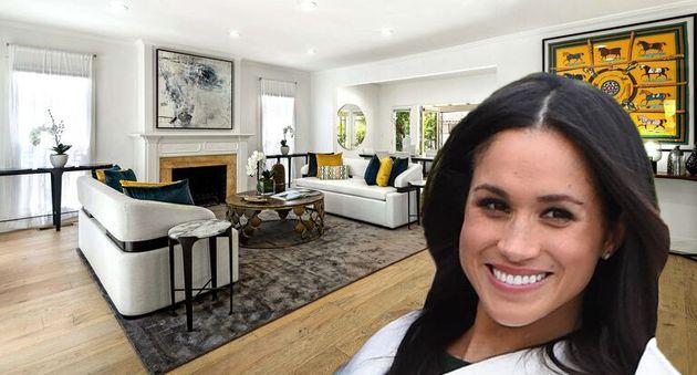 La coquette maison de Meghan Markle à Los Angeles est à