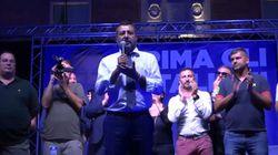 Salvini dal palco di Sabaudia: