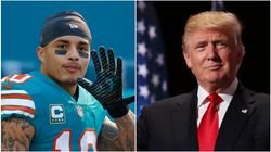 Dolphins Receiver Kenny Stills Calls Out Team's Owner For Hosting Trump