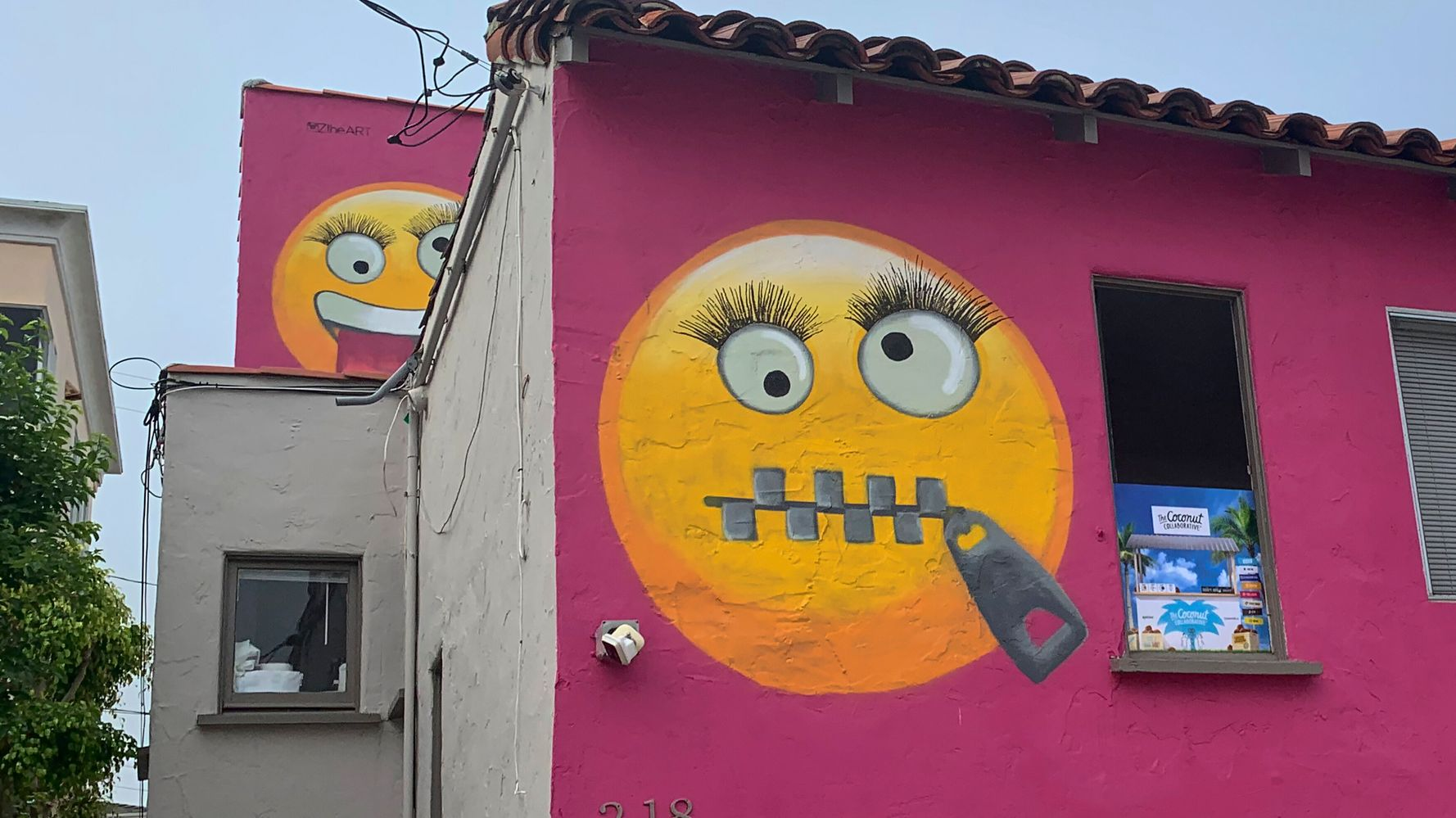 House Painted With Giant Emojis Rankles Residents Of California