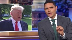 Trevor Noah Dismantles Trump's Faux Concern About All The