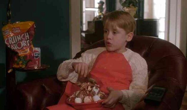Macaulay Culkin triunfa recreando esta escena de 'Solo en