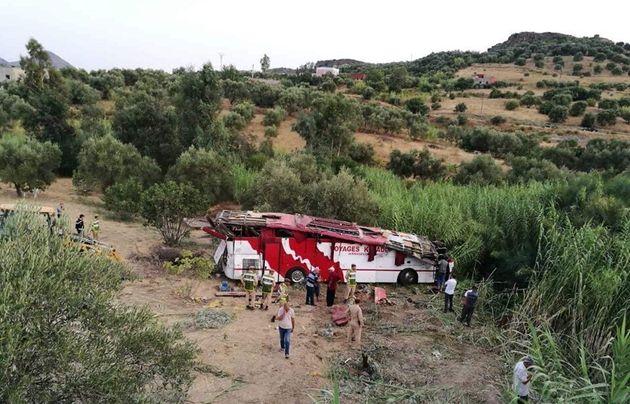 Accident tragique à Taounate: 5 morts et 40 blessés dans le renversement d'un