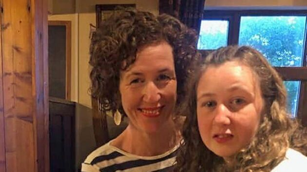 Nora with her motherMeabh