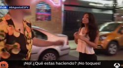 Una reportera de 'Espejo Público' cuenta en directo el acoso que sufrió en