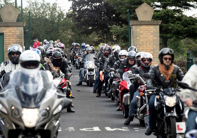 Bikers Lead Funeral For Teenage Brothers Killed In Shiregreen