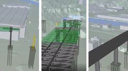 La ricostruzione in 3D mostra come sarà il nuovo Ponte di Genova