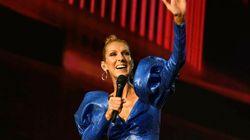 Céline Dion porte le «tuxedo canadien» à