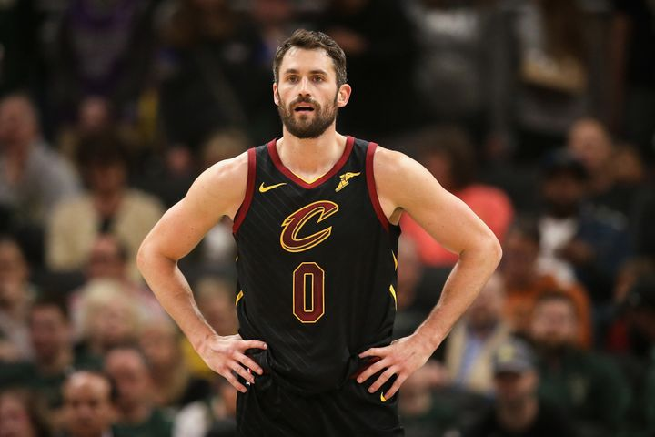 NBA star Kevin Love has been key in pushing for more athletes to be open about their mental health.