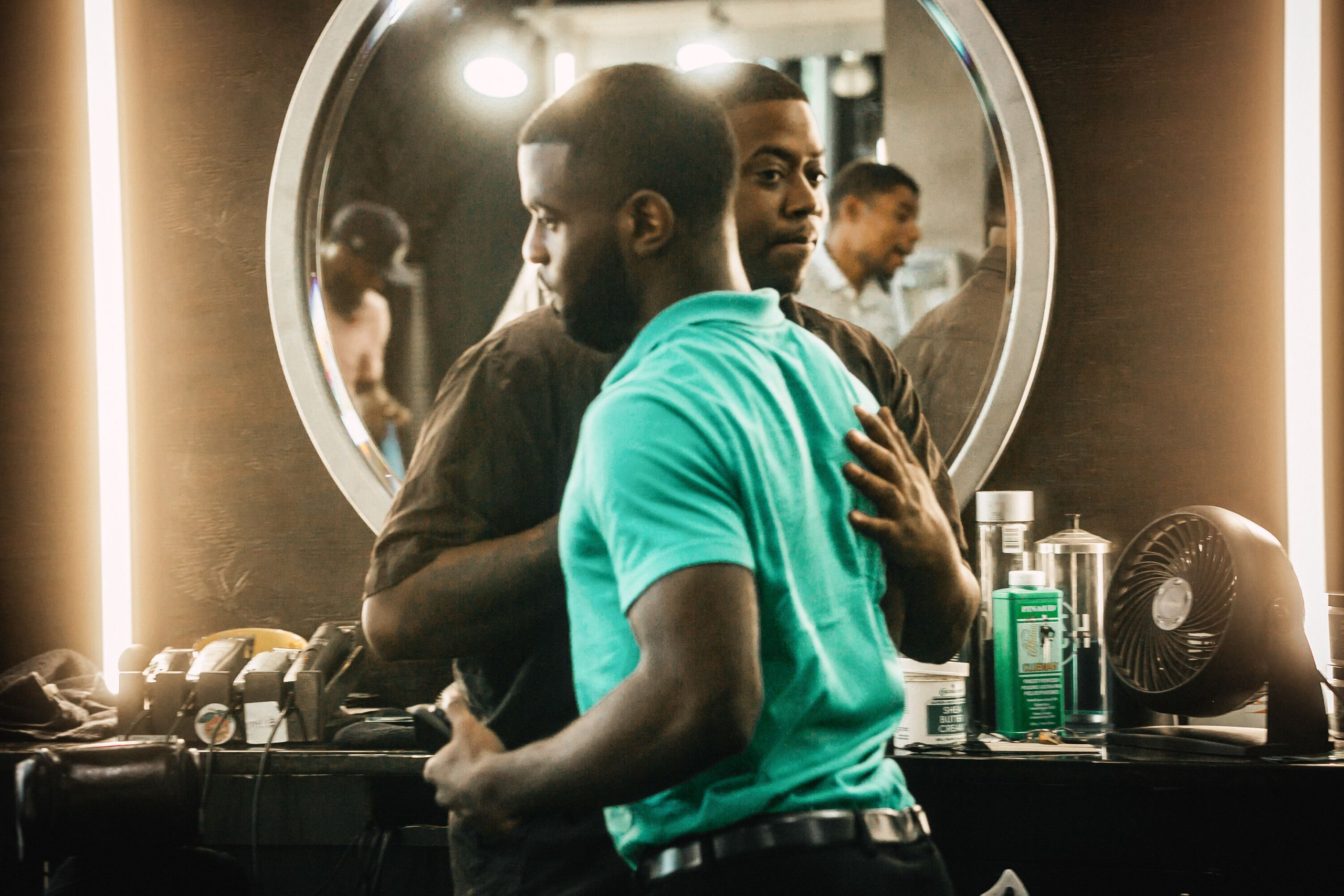 Barbers and their clients build strong relationships and trust over time. That trust is crucial for getting men to open up ab