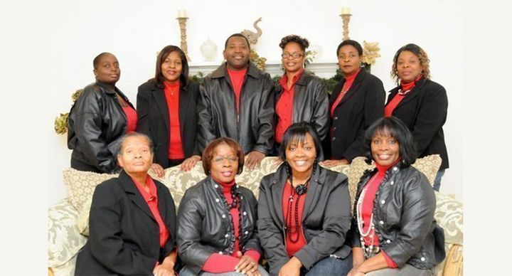 The Quitman 10 in 2013. Front row, from left, Linda Troutman, Lula Smart, April Proctor, and Diane Thomas. Back row, from lef