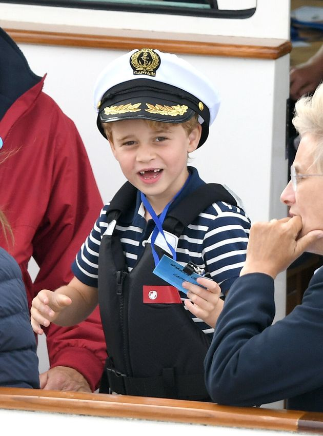 Prince George Is All Smiles (And No Front Teeth) At Kings Cup Regatta