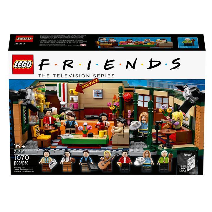 "Lego has re-created the iconic Central Perk coffee shop as part of its ""Friends""-themed set, which will retail for $59.99.&nb"