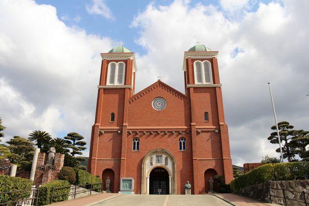 再建された浦上天主堂(2018年撮影)